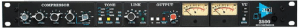 Frony face of legendary API 2500 audio mastering compressor. Another of the many classic high-end emulations available and used regularly by KJAMM