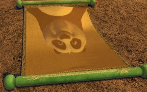 Kung-Fu Panda blank scroll. Can LANDR match the mastery of an experienced mastering engineer?